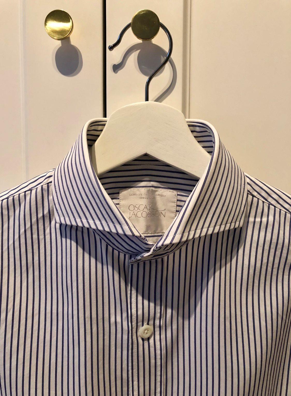 Skjortor Oscar Jacobson storlek 38 (336891697) ᐈ Köp på Tradera 68a05150a17c4