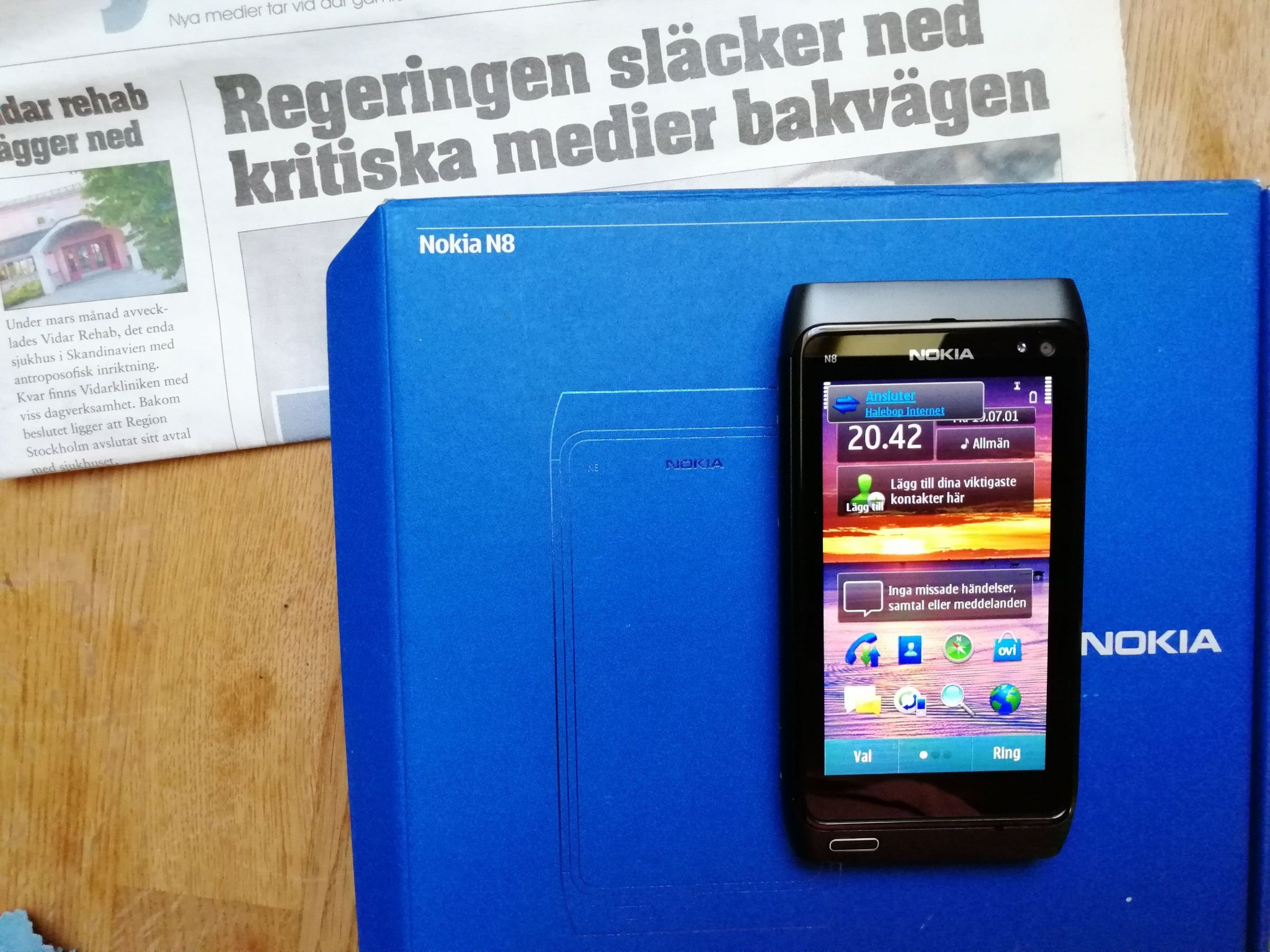 NOKIA N8 Nyskick Xenon flash FM-Radio FM-sändare (356226686