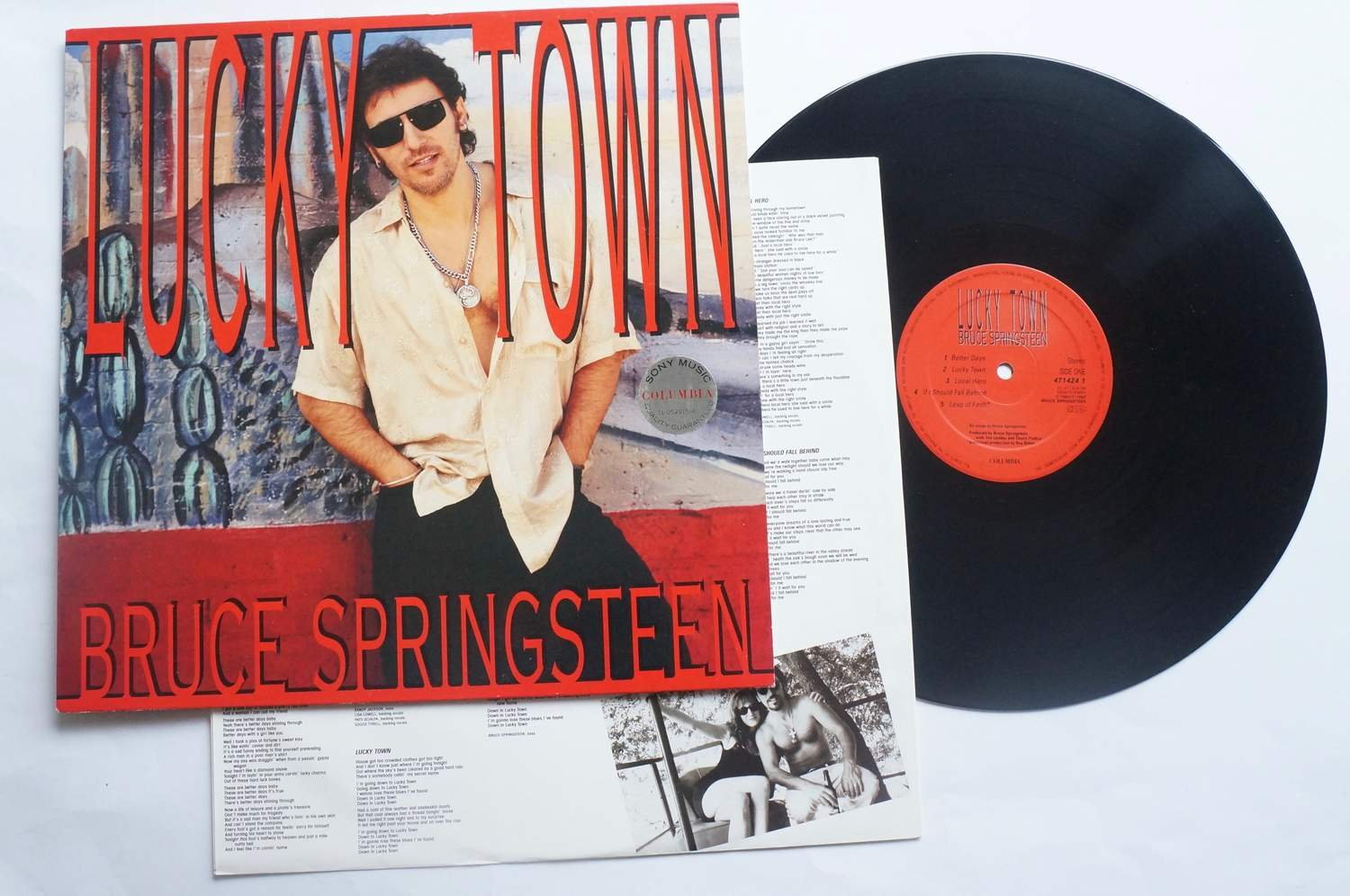 ** Bruce Springsteen - Lucky Town **
