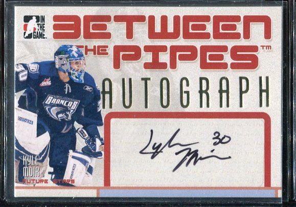 2006-07 Between The Pipes Autographs #AKM Kyle Moir