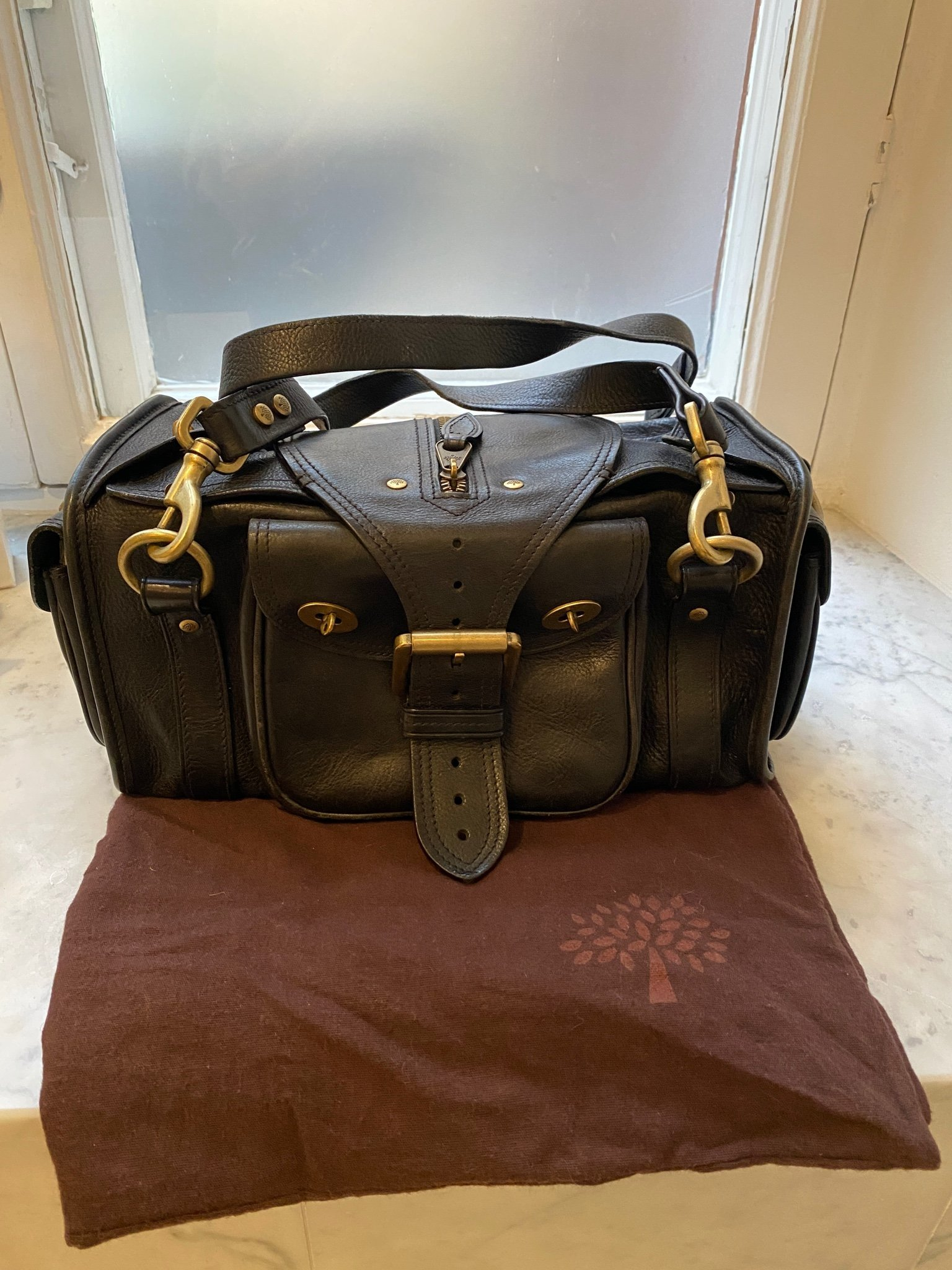 "MULBERRY ""EMMY"" BAG"