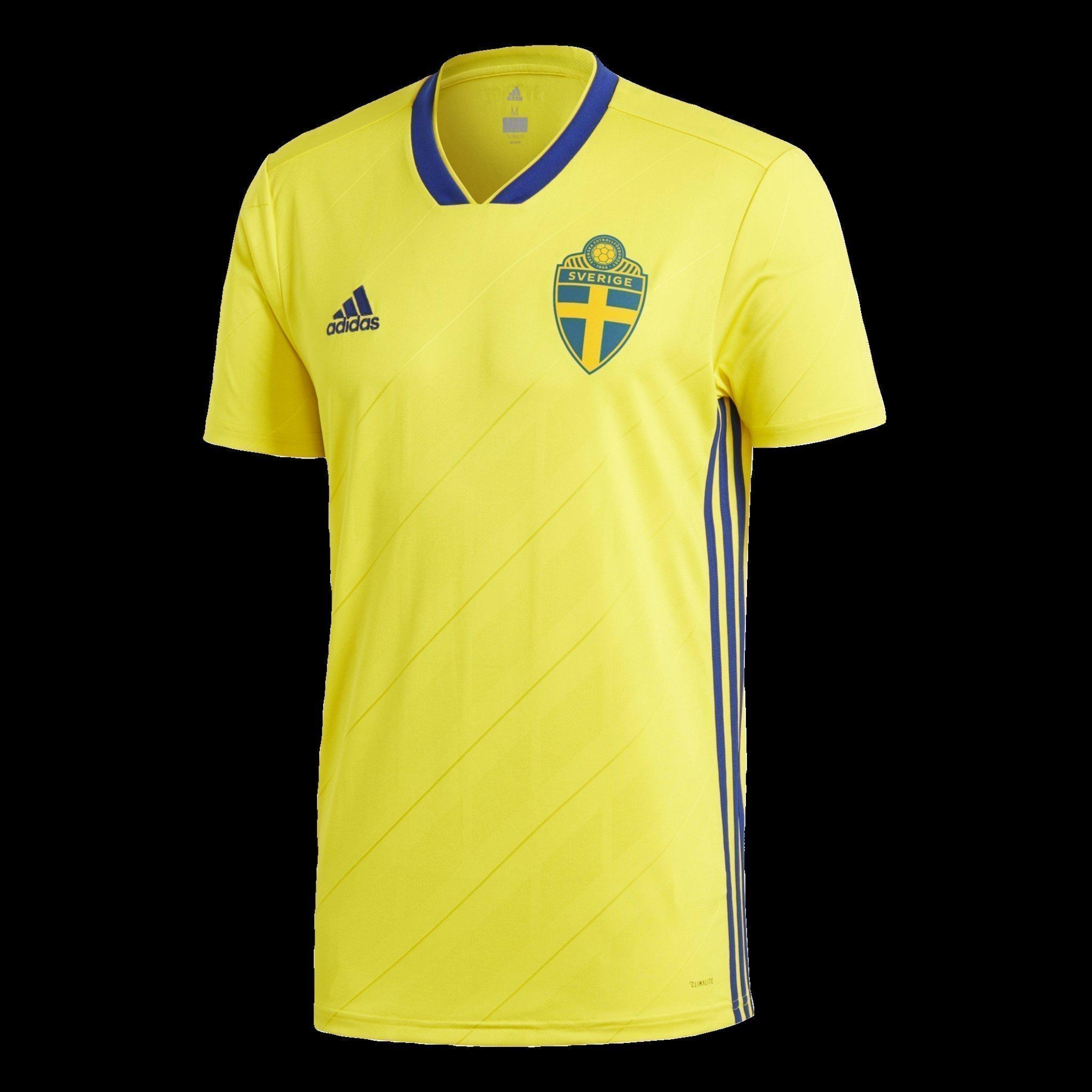 Sverige Tröja, SvFF, stl M, Adidas, Fotbolls VM, Hemmaställ