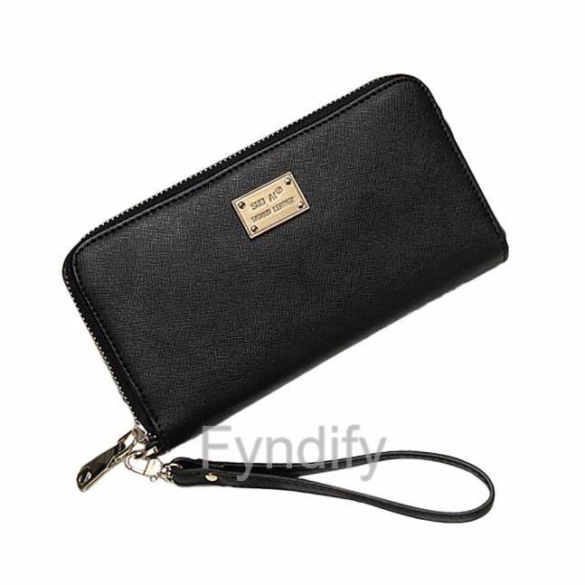 svart plånbok dam