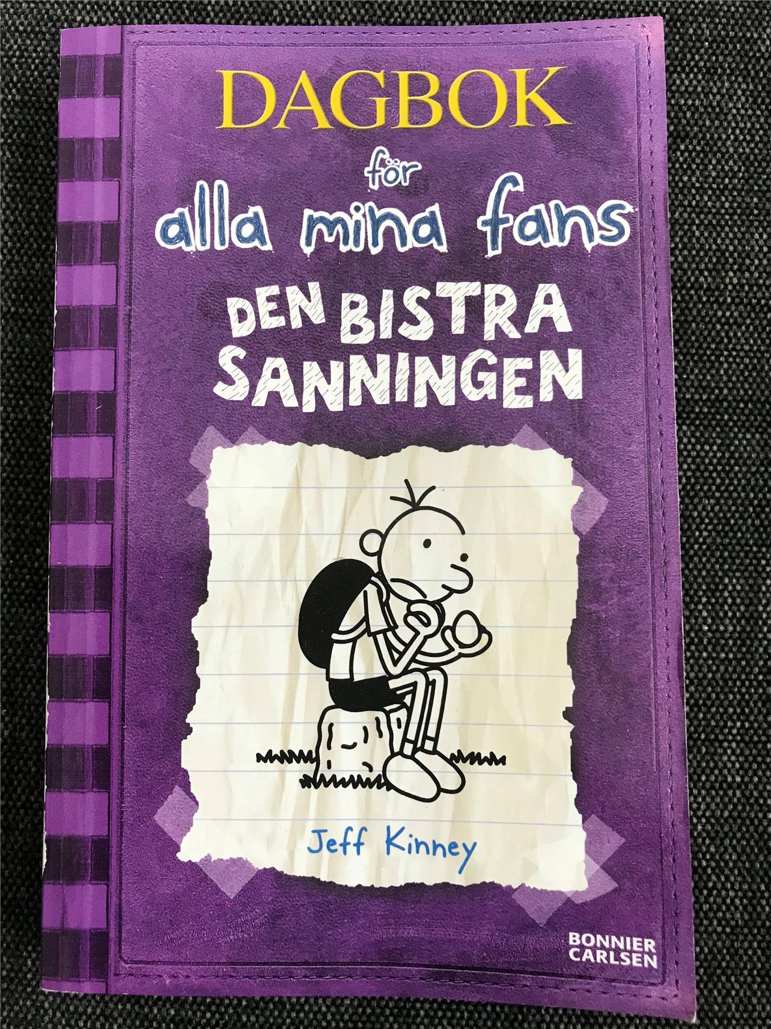 dagbok för alla mina fans
