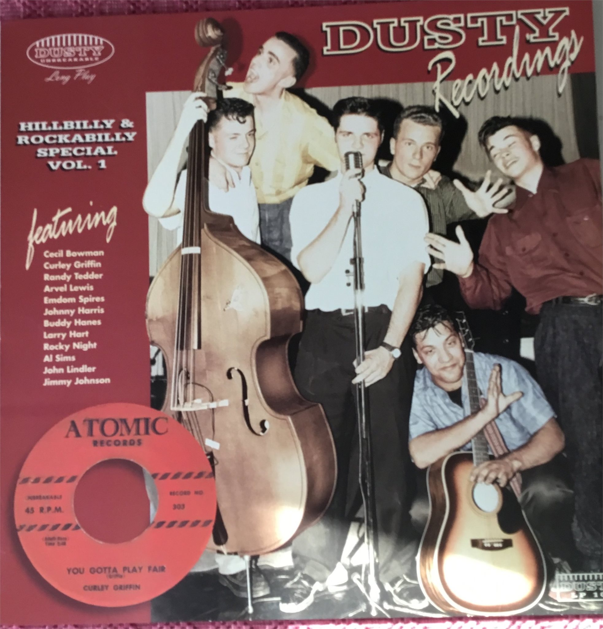 Hillbilly & Rockabilly Special Vol : 1. Dusty Recordings.