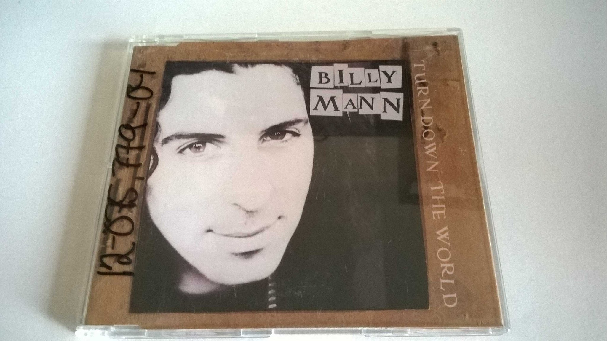 Billy Mann - Turn Down The World, CD