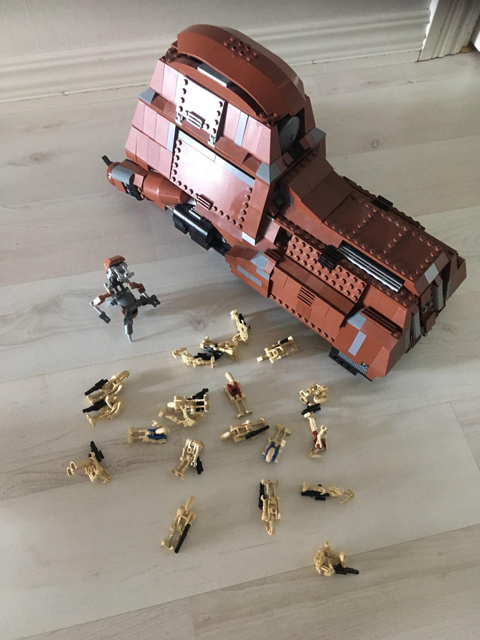 Lego Star Wars 7662, Trade Feferation MTT, komp   (358093171