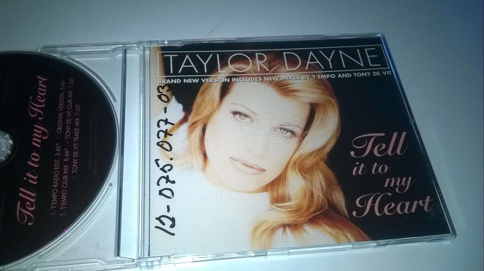 Taylor Dayne - Tell It To My Heart, CD, Single