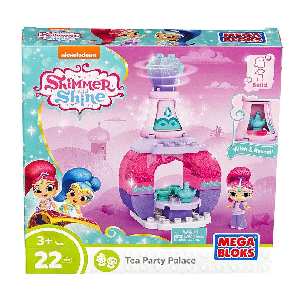 Mega Mega Mega Bloks Shimmer & Shine Shimmer Tea Party Building Set e8f0da