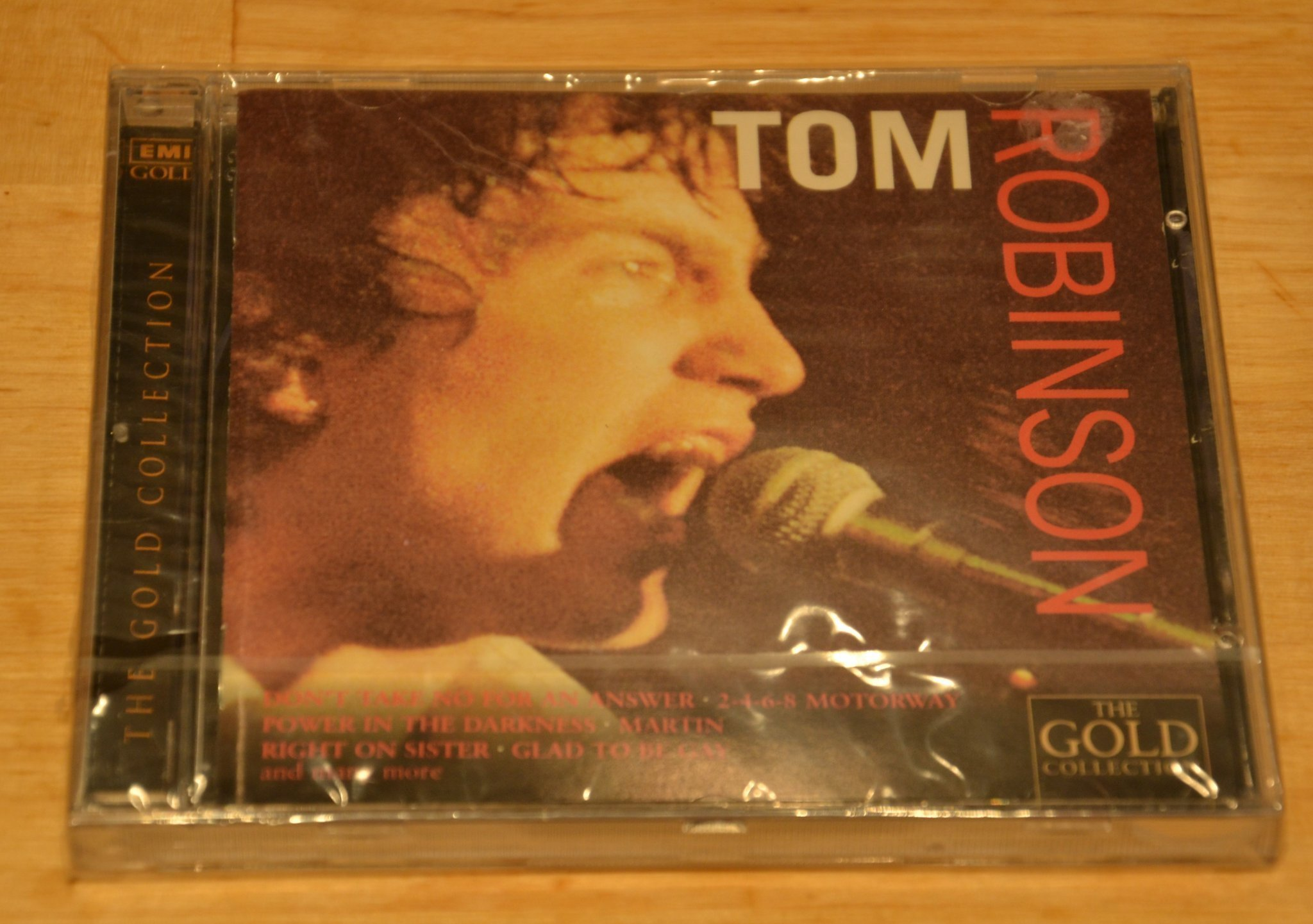 "TOM ROBINSON BAND ""THE GOLD COLLECTION"" CD 1996"