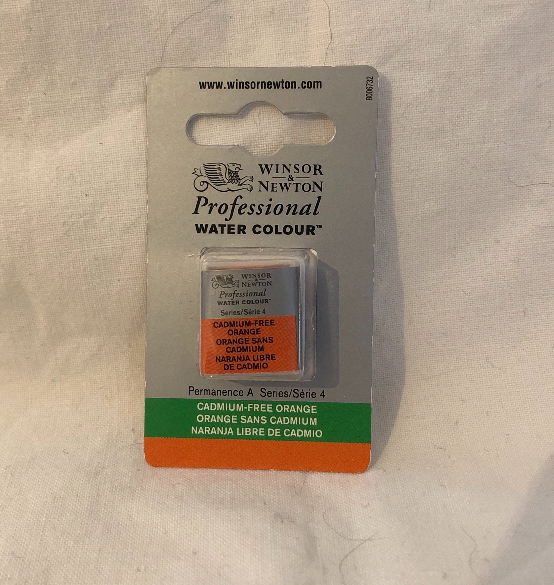 W&N Professional Akvarellfärg Cadmium Free Orange (S4) 1/2k 899