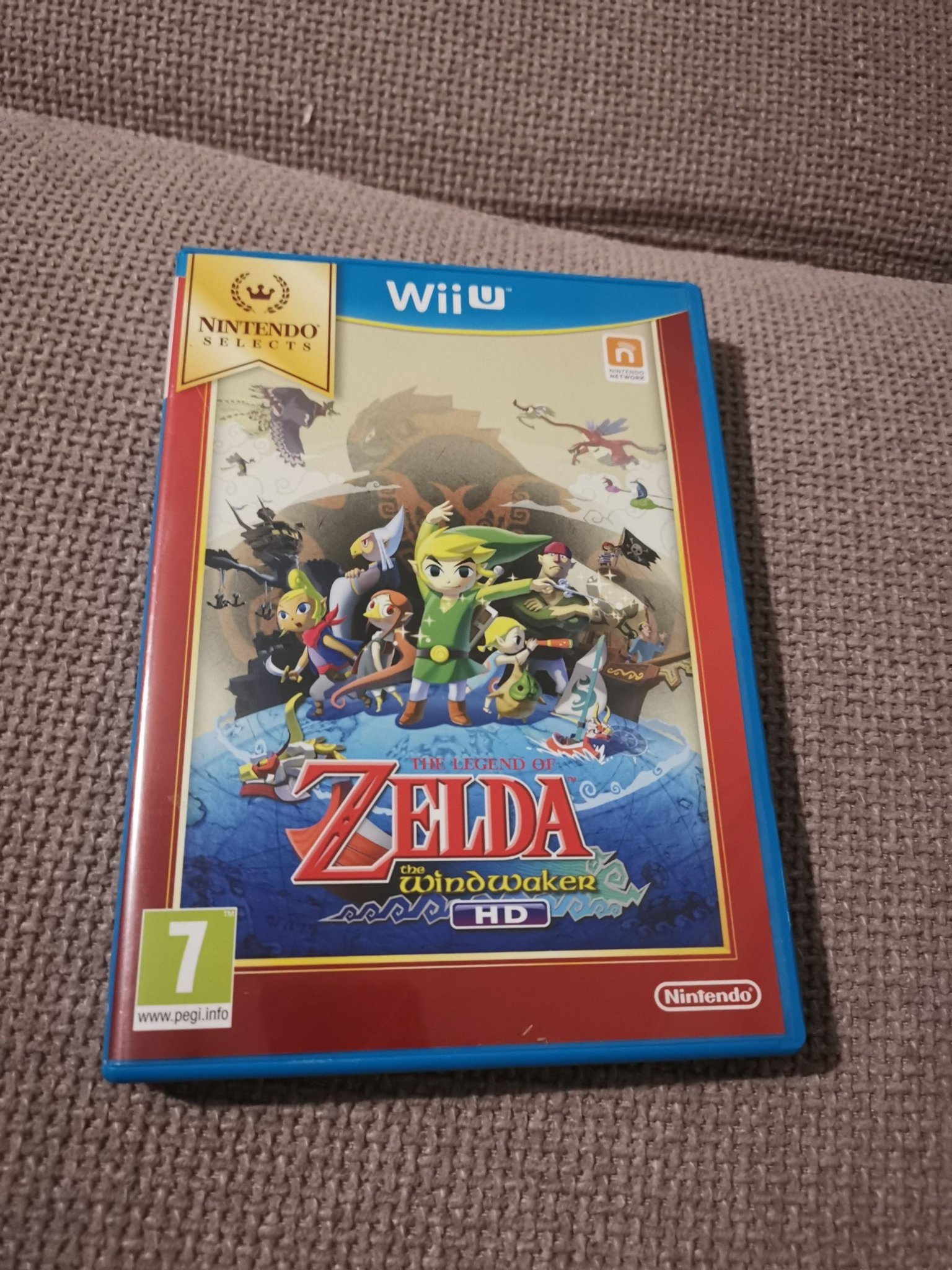 The Legend Of Zelda The WindWaker HD Nintendo wii U