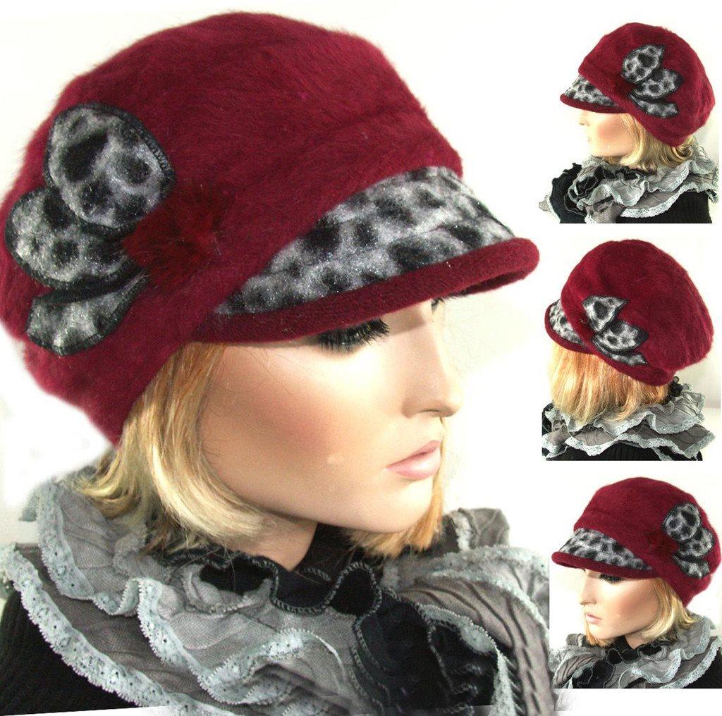 Dam Eleganta Vinter ANGORA HATT Keps.. (290929113) ᐈ hatsandcaps på ... fe2c570ea7f41