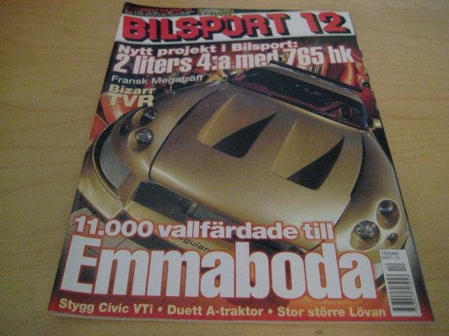 BILSPORT NR 12 2004   LINCOLN NAVIGATOR,HONDA CIVIC ,M.M