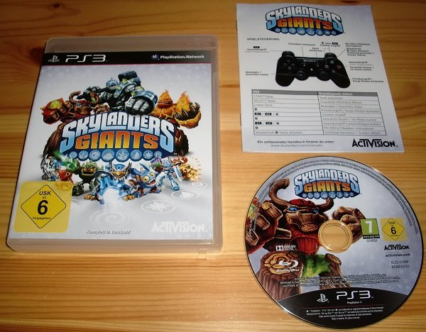 PS3: Skylanders Giants