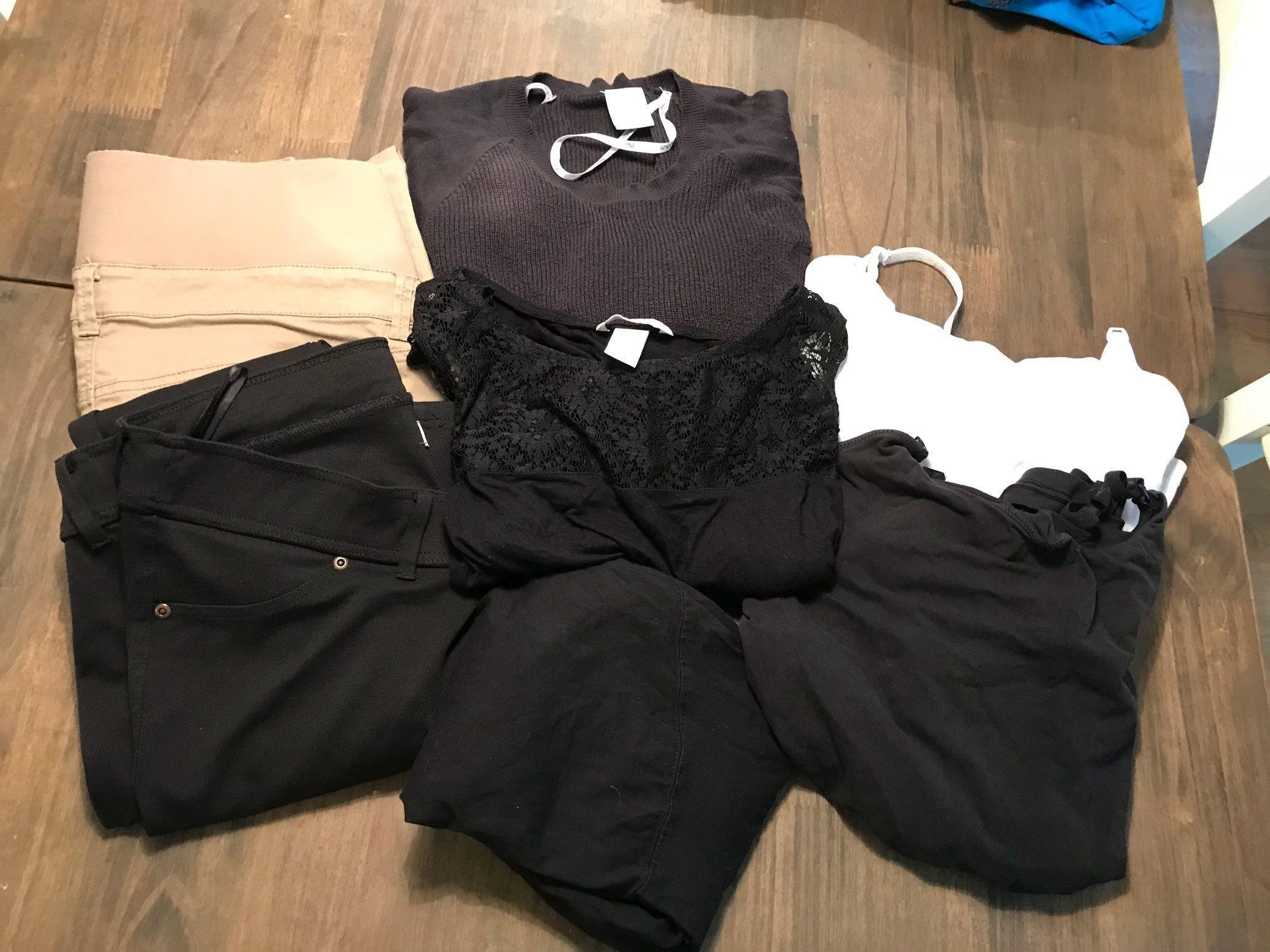 Klädpaket Gravidkläder S-M ee74a4adb6f35