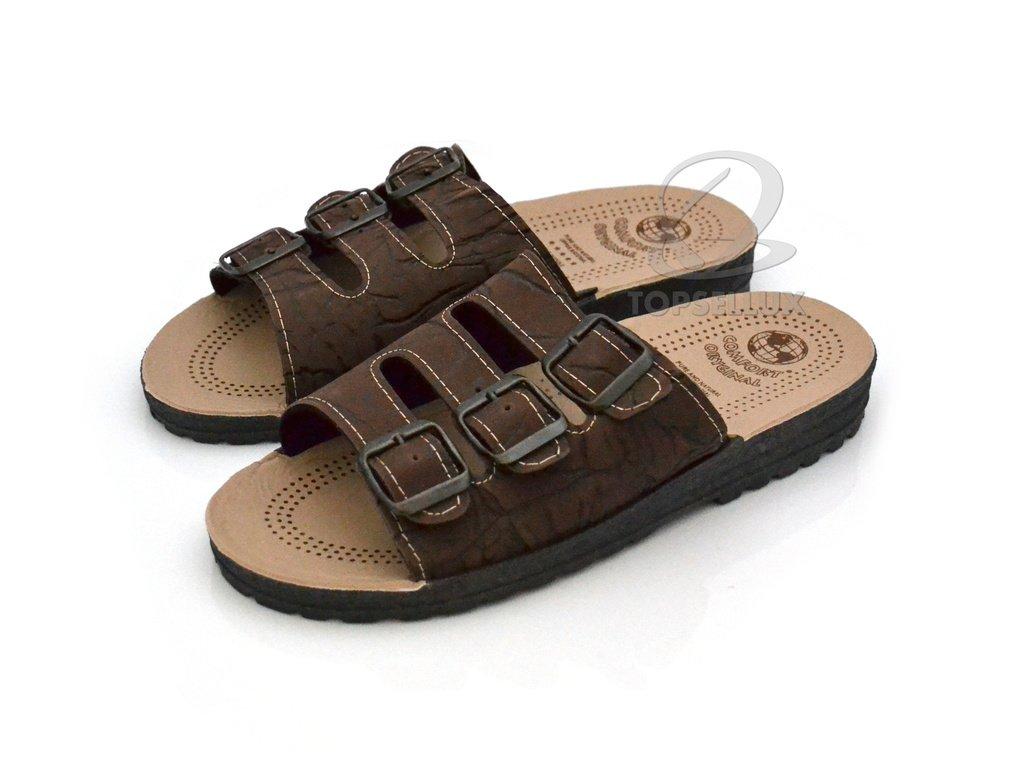 newest 79ce7 984b7 Sandal med fotbädd ortopedisk sula arbete fritid sommarskor herr sandaler  stl 42
