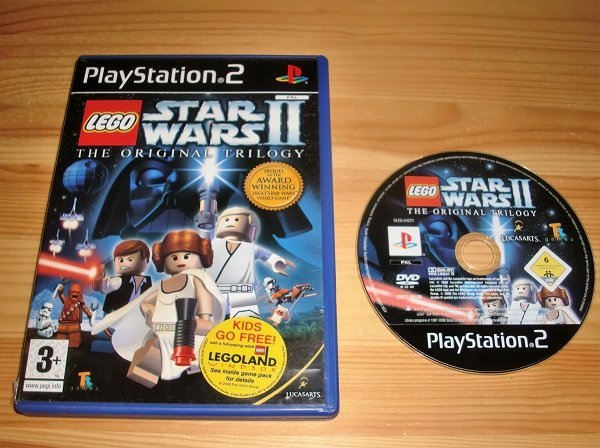 PS2: Lego Star Wars II 2 the Original Trilogy