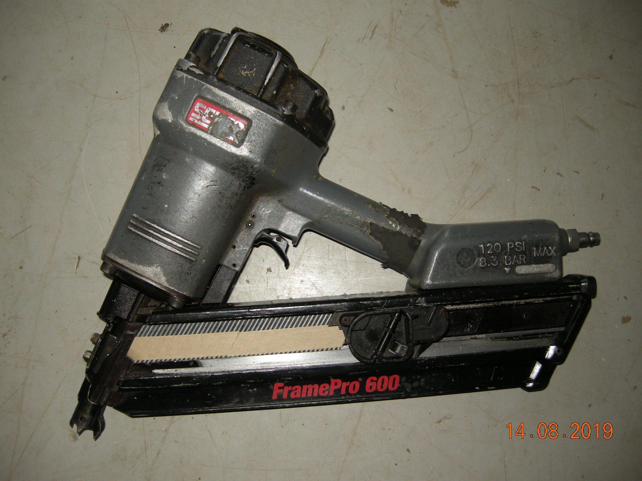 Unika Spikpistol Senco Framepro 600 (362062033) ᐈ Köp på Tradera OW-46