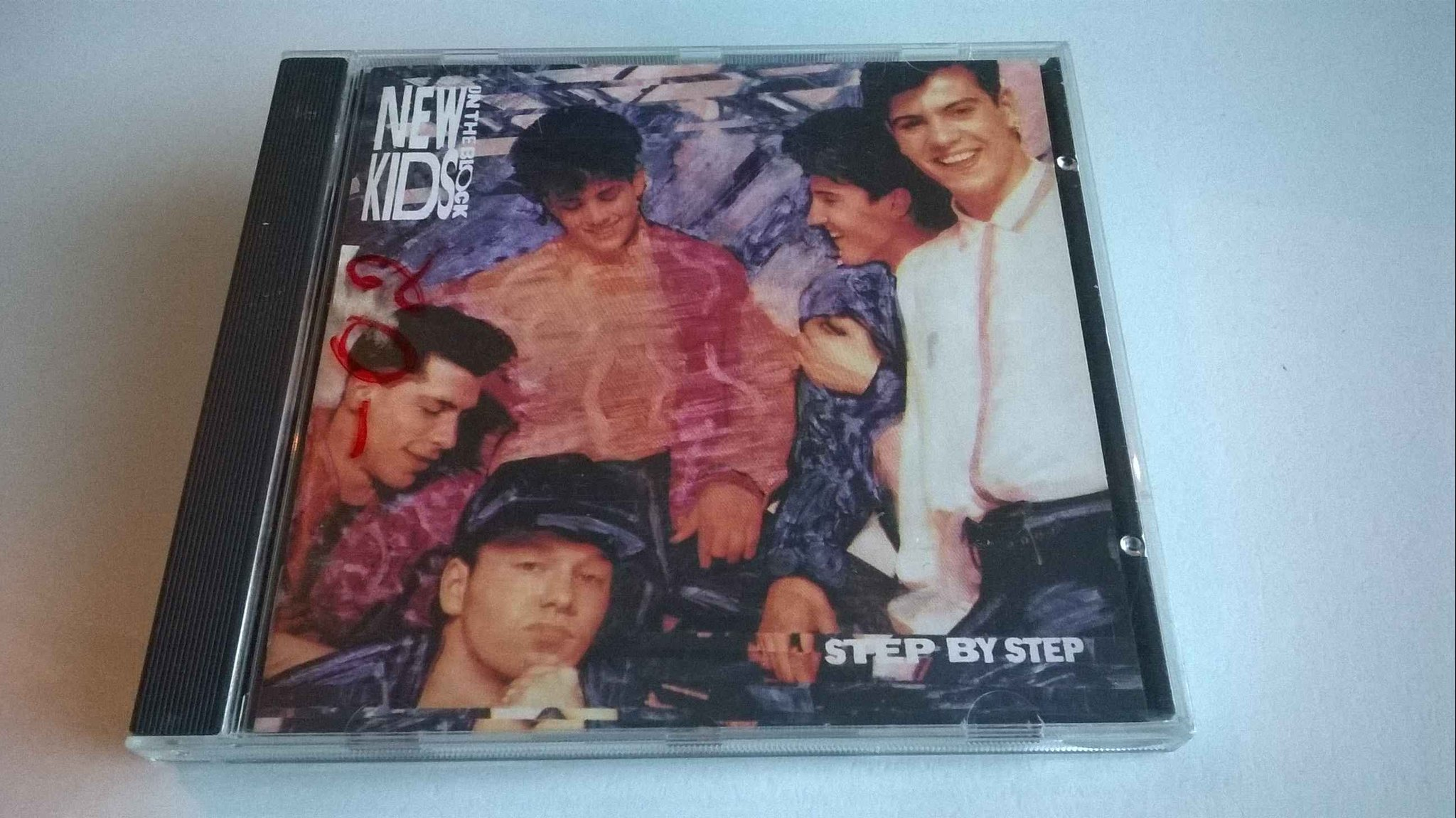 New Kids On The Block - Step By Step, CD