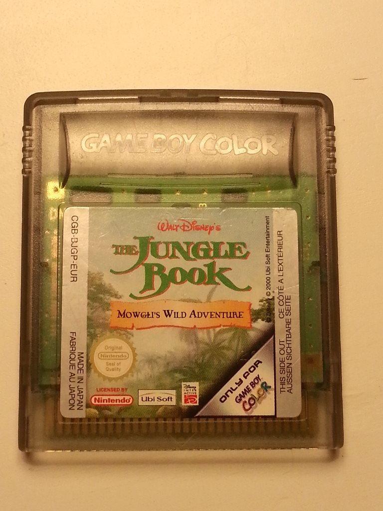 Gameboy color jungle book - The Jungle Book Mowgli S Wild Adventur Spel F R Game Boy Color Gameboy Gbc