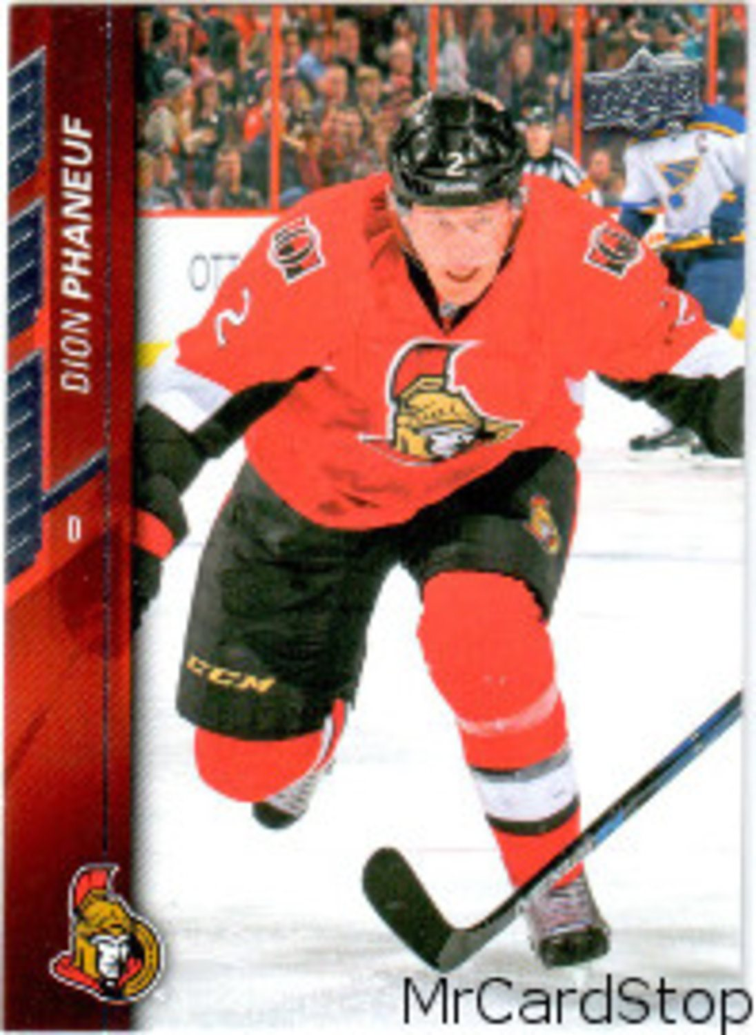 2015-16 Upper Deck 517 Dion Phaneuf Ottawa Senators