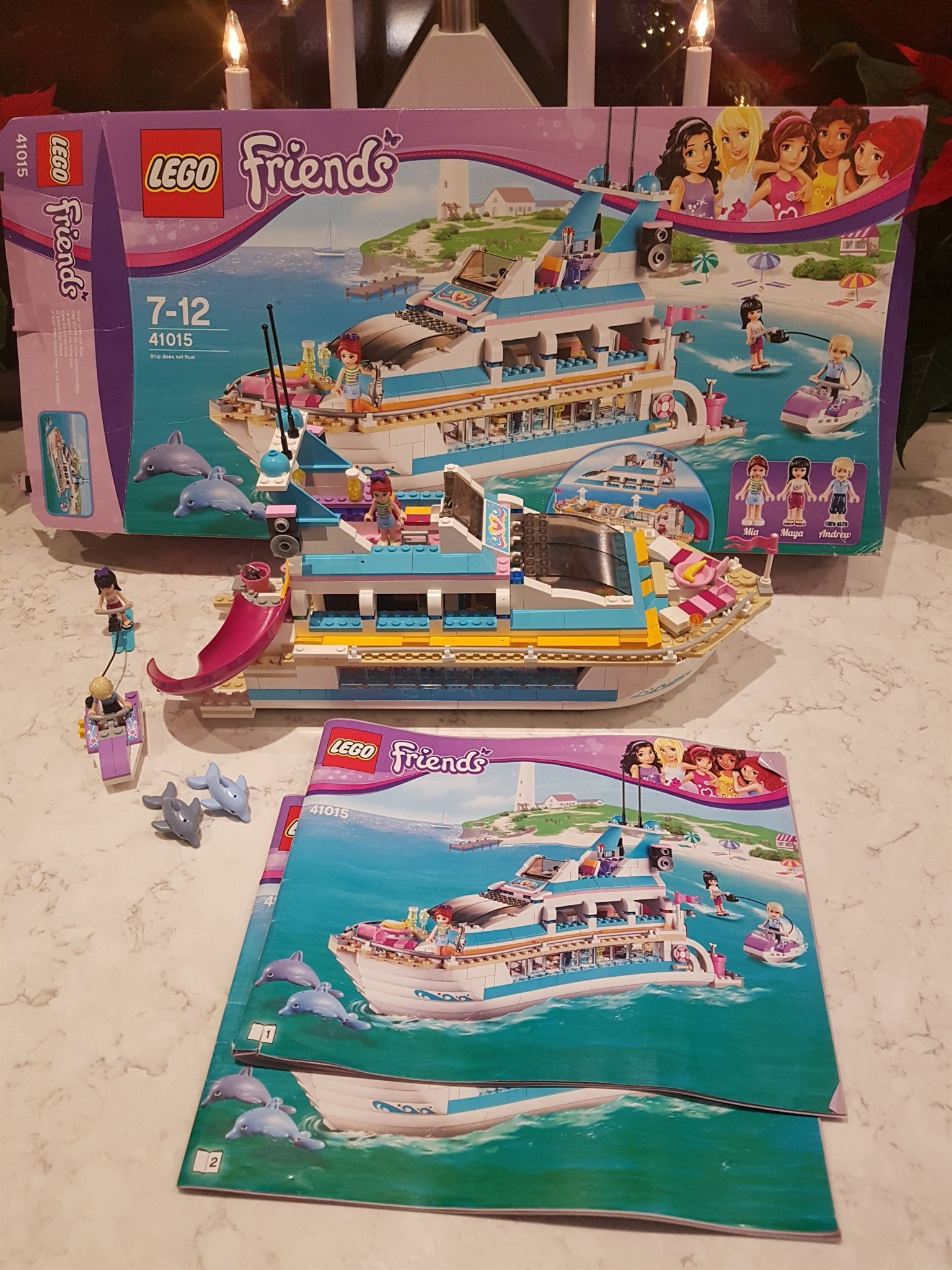 Avansert Lego Friends 41015 båt (333221515) ᐈ Köp på Tradera ZZ-78