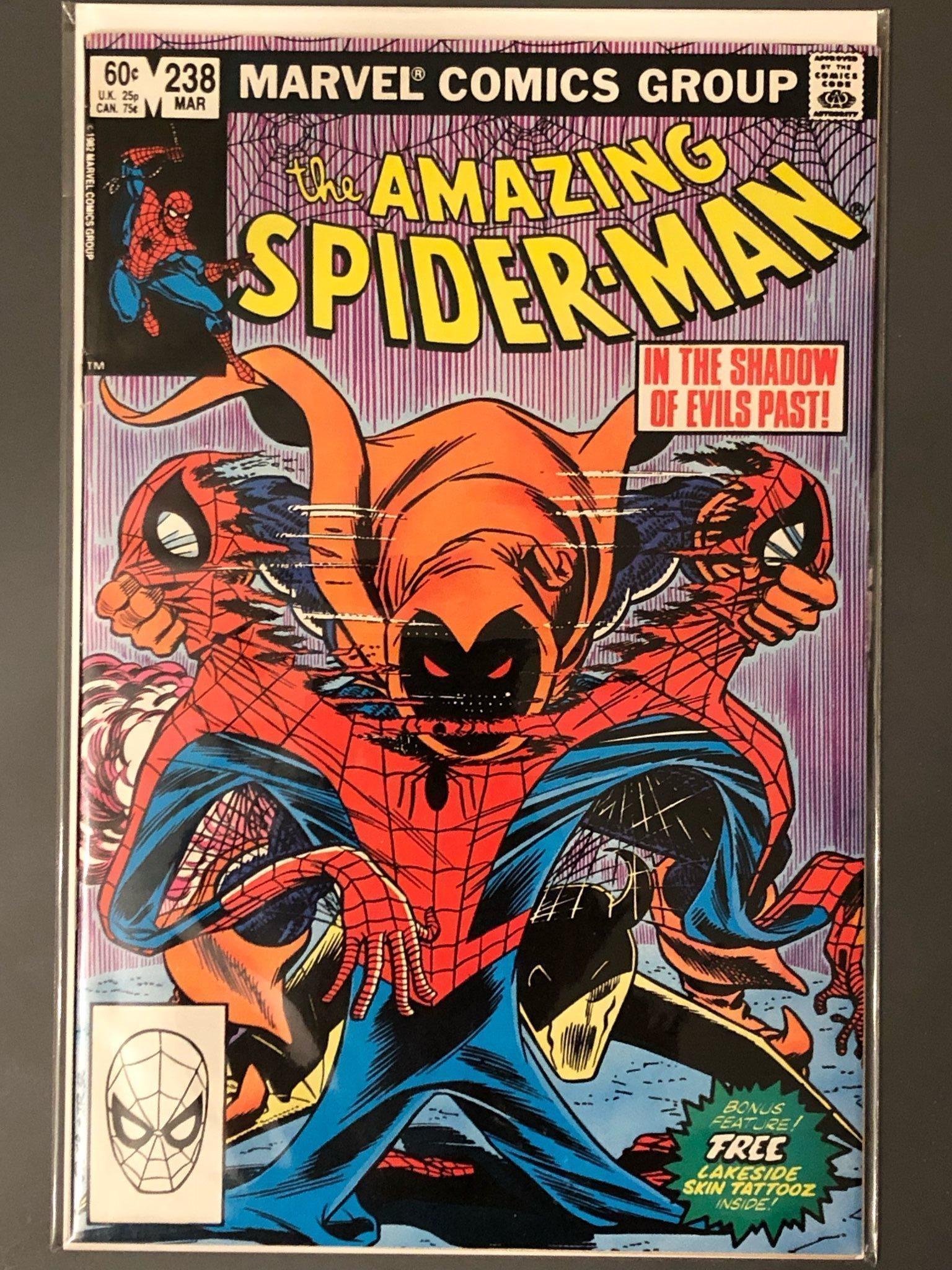 Amazing Spider-Man #238, utan tatueringar. -VF