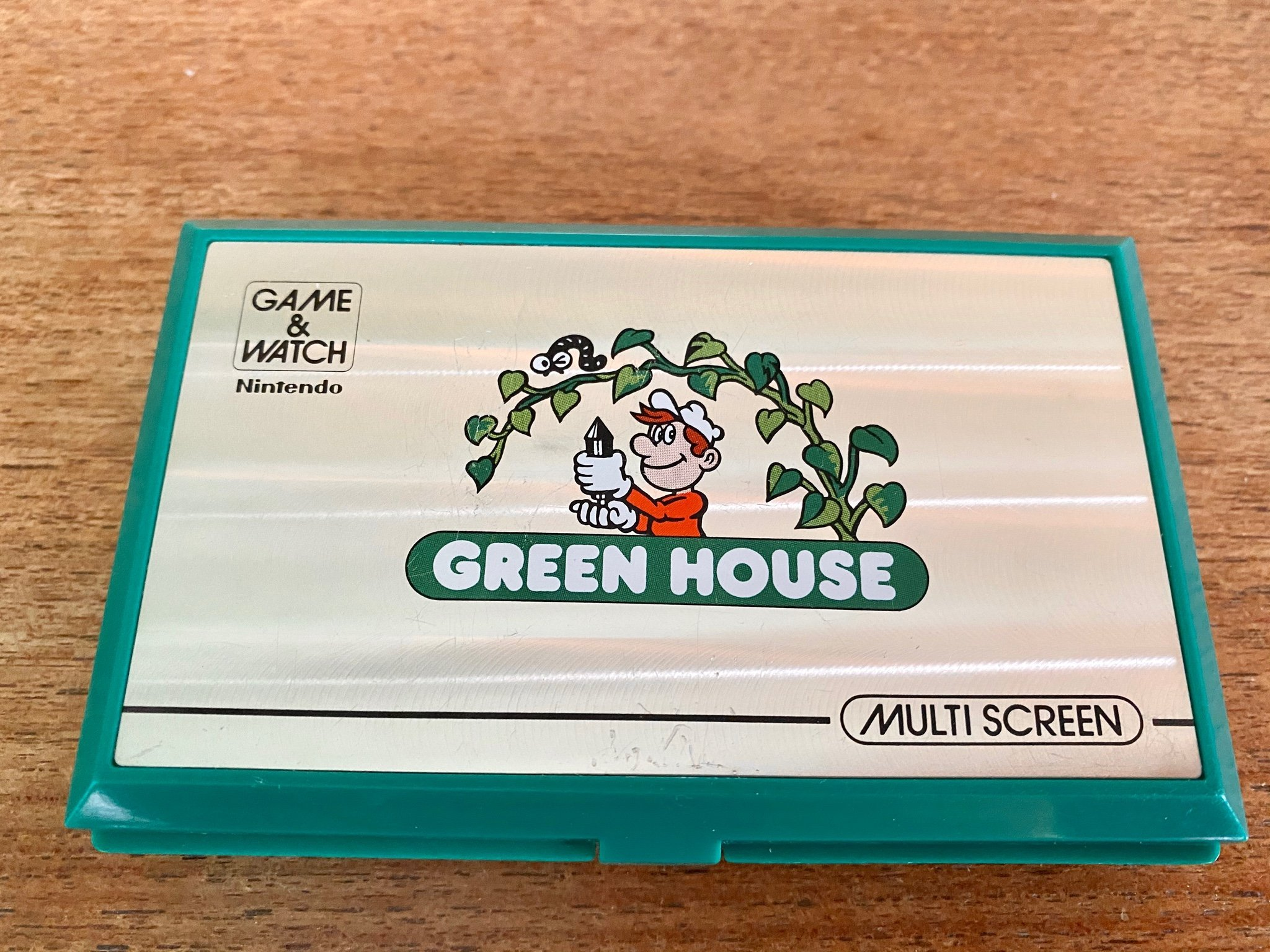 Nintendo Game & Watch Green House