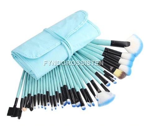 Sminkborstar Makeup Borstar 32st .. (320938231) ᐈ FyndGrossisten på ... 6d932a647ab42