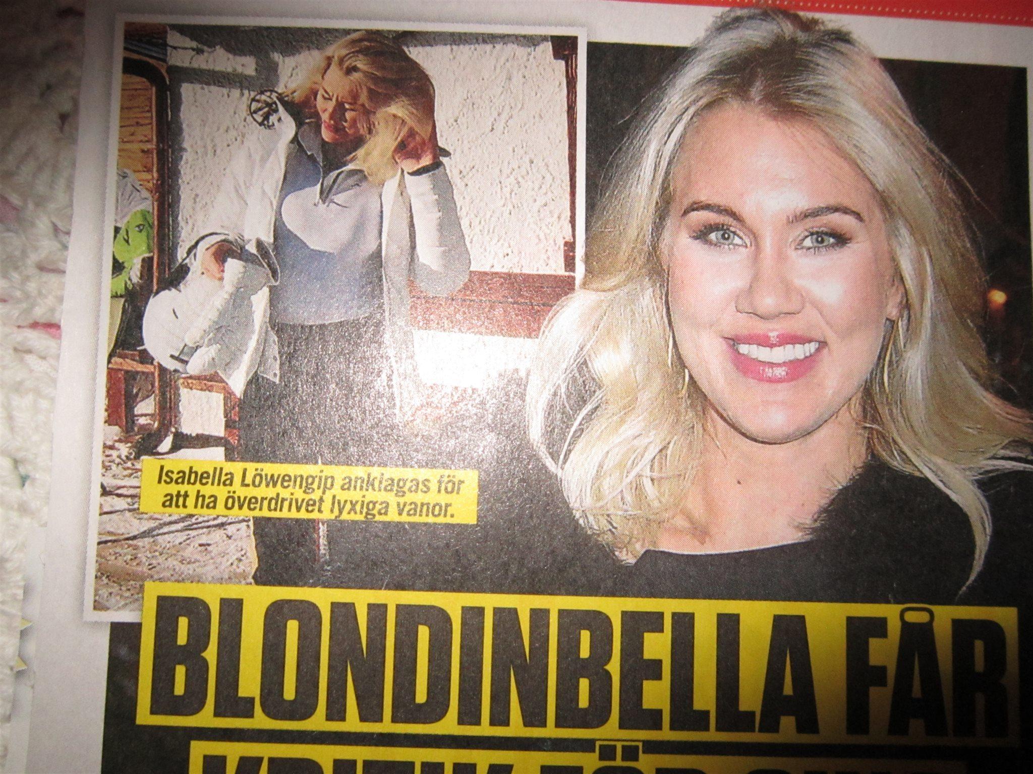 Ny granskning av blondinbella