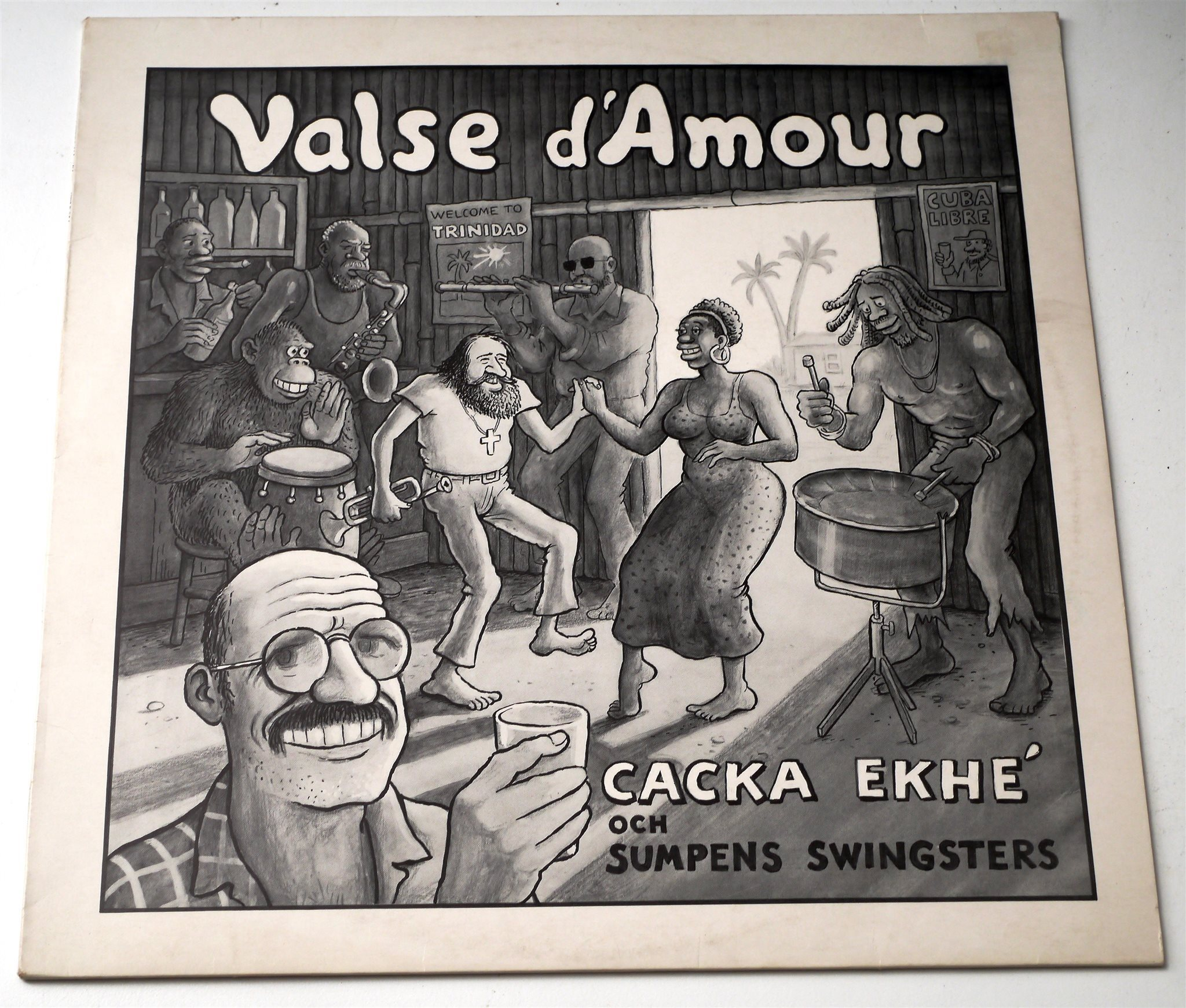 Sumpen Swingsters Cacka Ekhé Jan Lööf / Valse d´Amour LP 1984