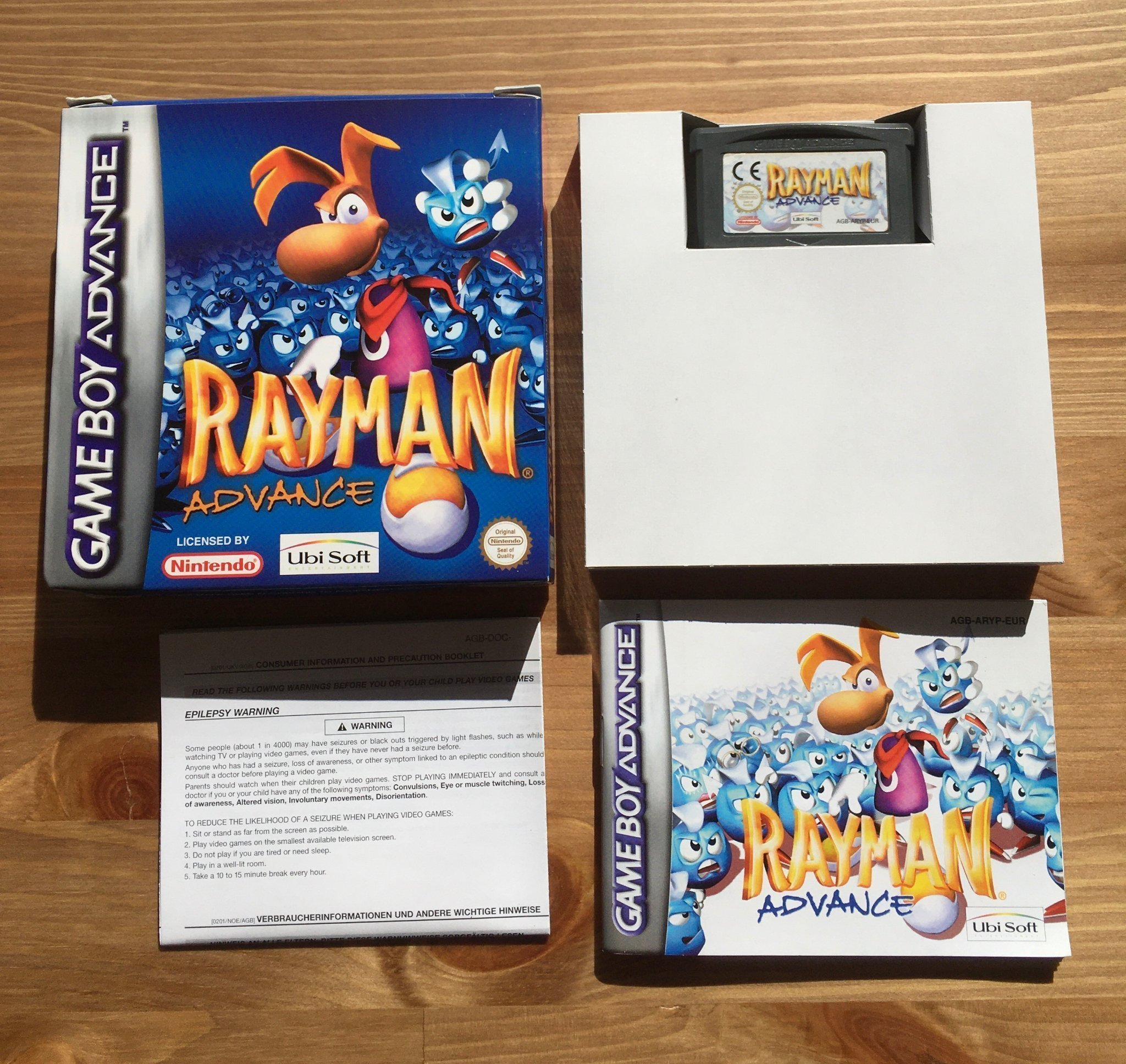 Rayman Advance - Komplett - GBA - Gameboy - Game Boy Advance