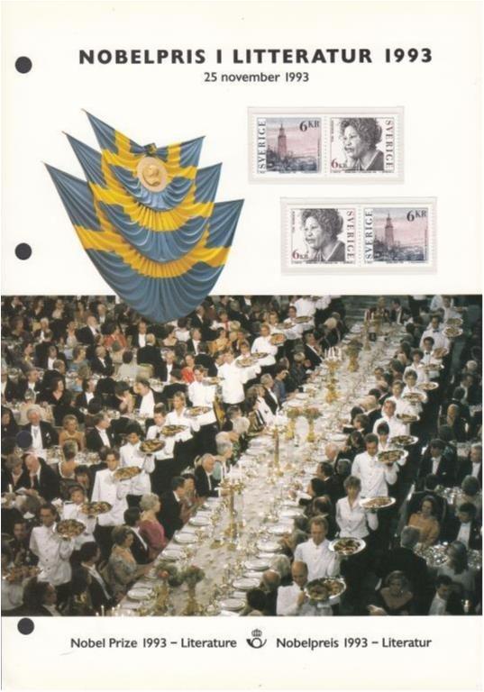 nobelpris i litteratur 1993