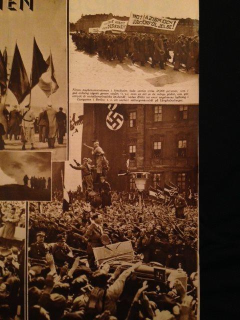 Tidningar från 1934 Intressant Intressant Intressant läsning om  kungligheter politik reklam mode mm d3ec99