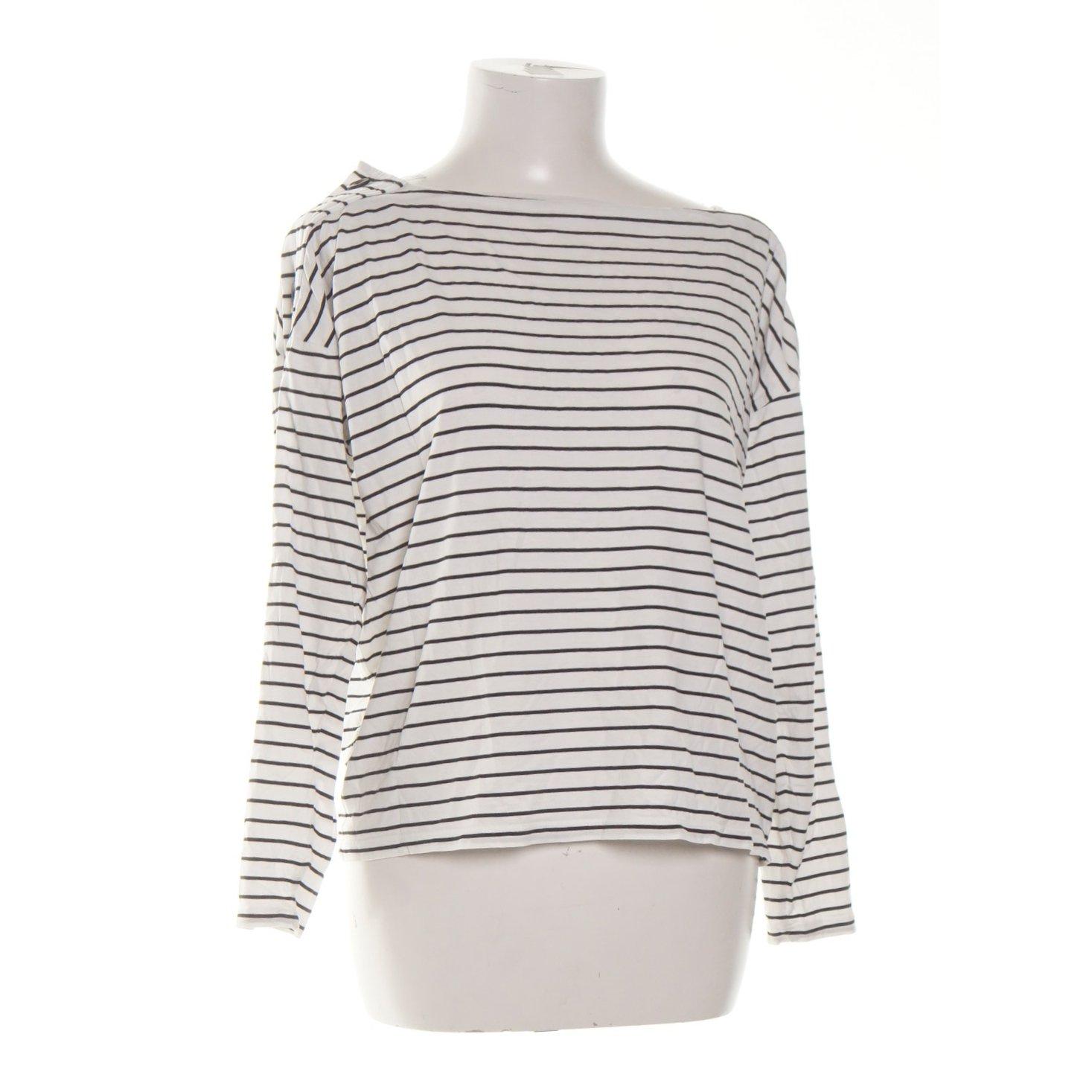 Lindex, Långärmad T shirt, Strl: S, Vit, Lyocell
