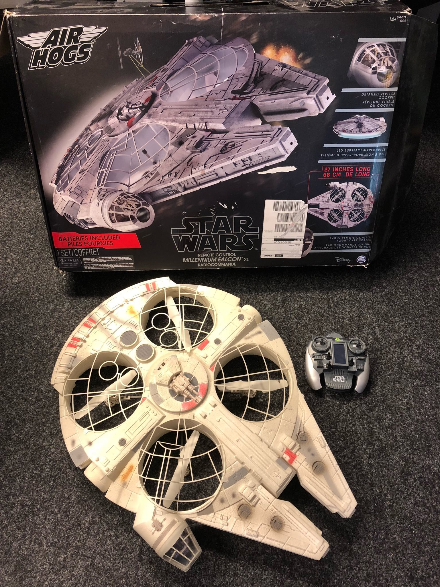 star wars million falcon radiostyrt