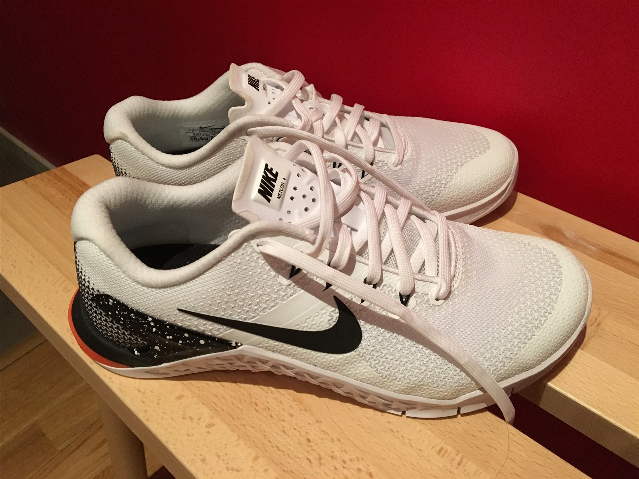 half off 8c14c d3604 Nike Metcon 4 Dam Träningsskor Crossfit oanvänt i storlek 38,5 ...