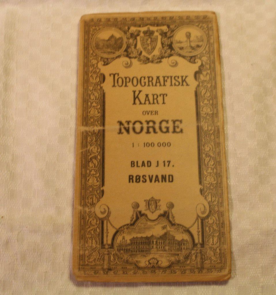 Karta Syd Norge.Topografisk Karta Over Norge Rosvand Bl 336370159 ᐈ Tsarix Pa
