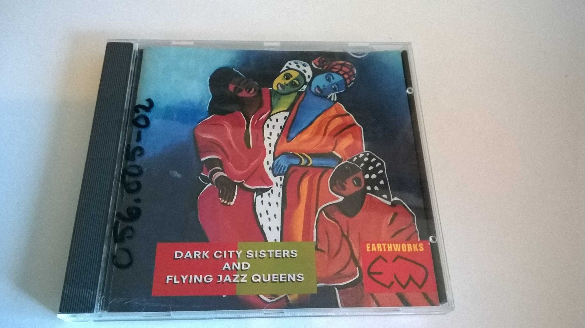 Dark City Sisters and Flying Jazz Queens - Earthworks, CD