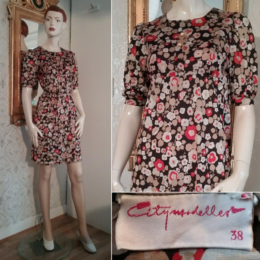 Vintage Citymodeller svart klännin.. (303660676) ᐈ vintagecorner på ... 75ec2a8174cbf