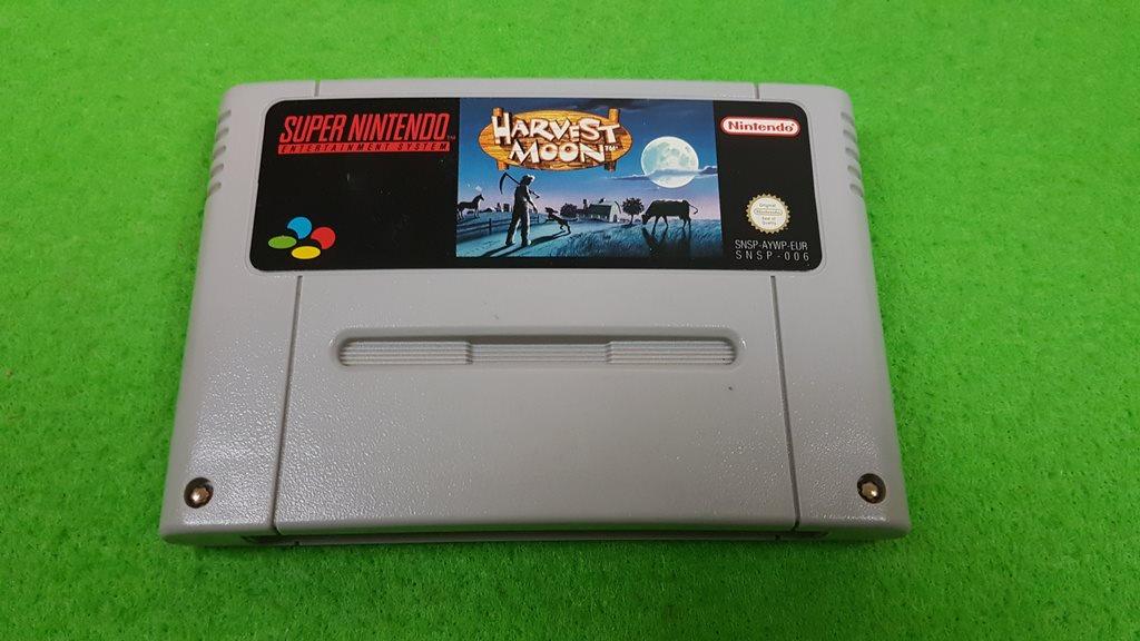 Harvest Moon Super Nintendo snes (330528903) ᐈ SpelHem på