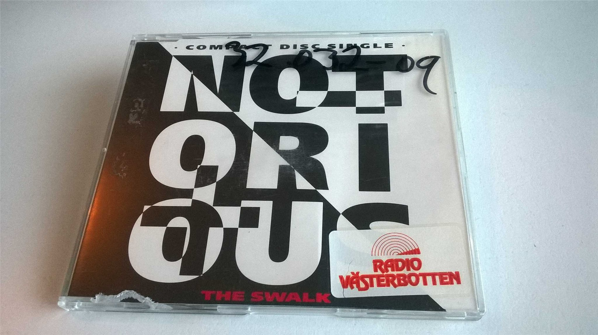 Notorious - The Swalk, CD, Single