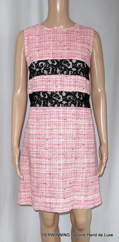 rosa klänning spets