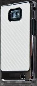 Samsung Galaxy S2 skal vit kolfiber sil.. (208285140) ᐈ CASE4YOU på ... d0d81d8a99260