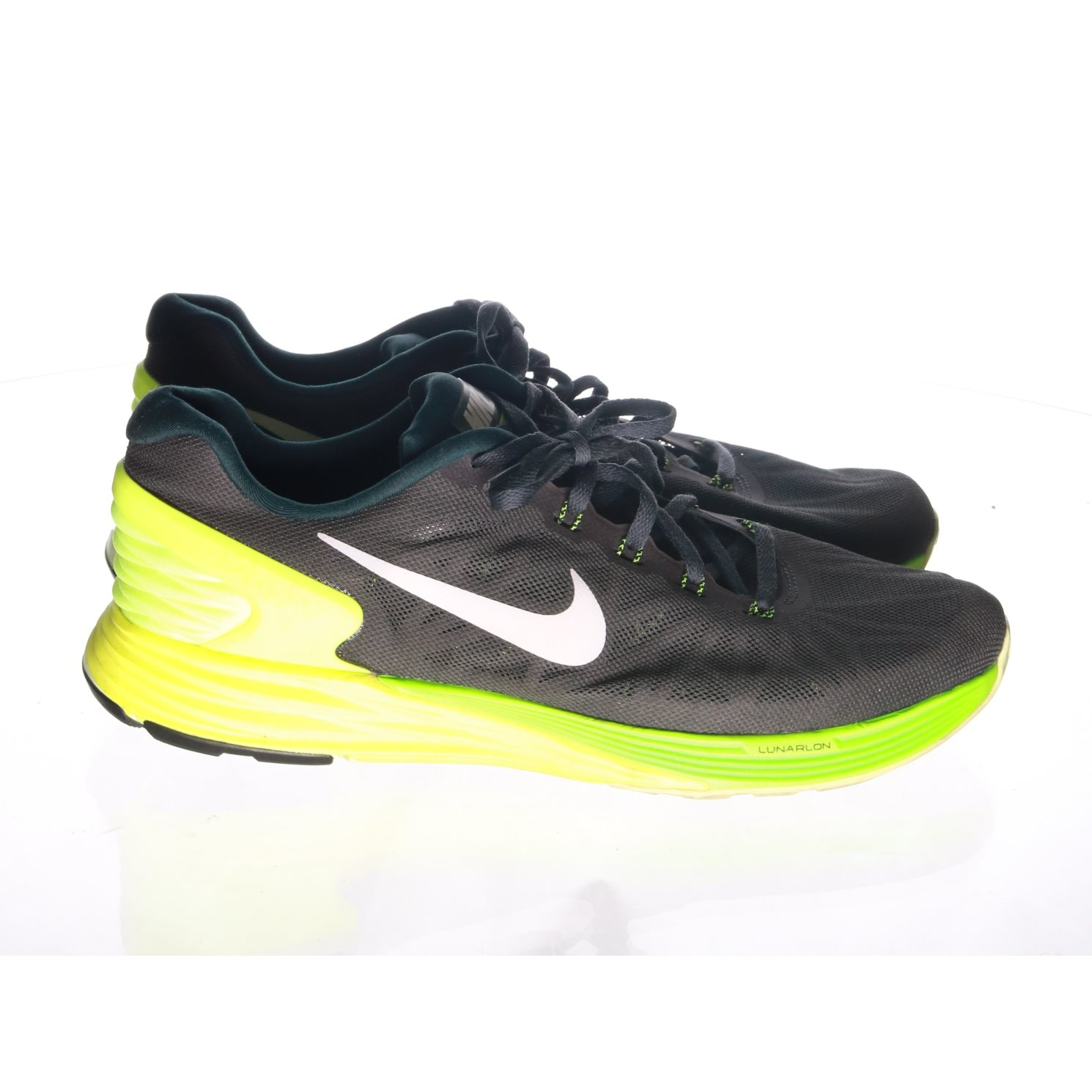 check out ba07b fbaac ... grå svarta uc84652h652 f287b b2e99 france nike sneakers lunarglide 6  strl 45 gul grön svart 2627a 9ba0b ...