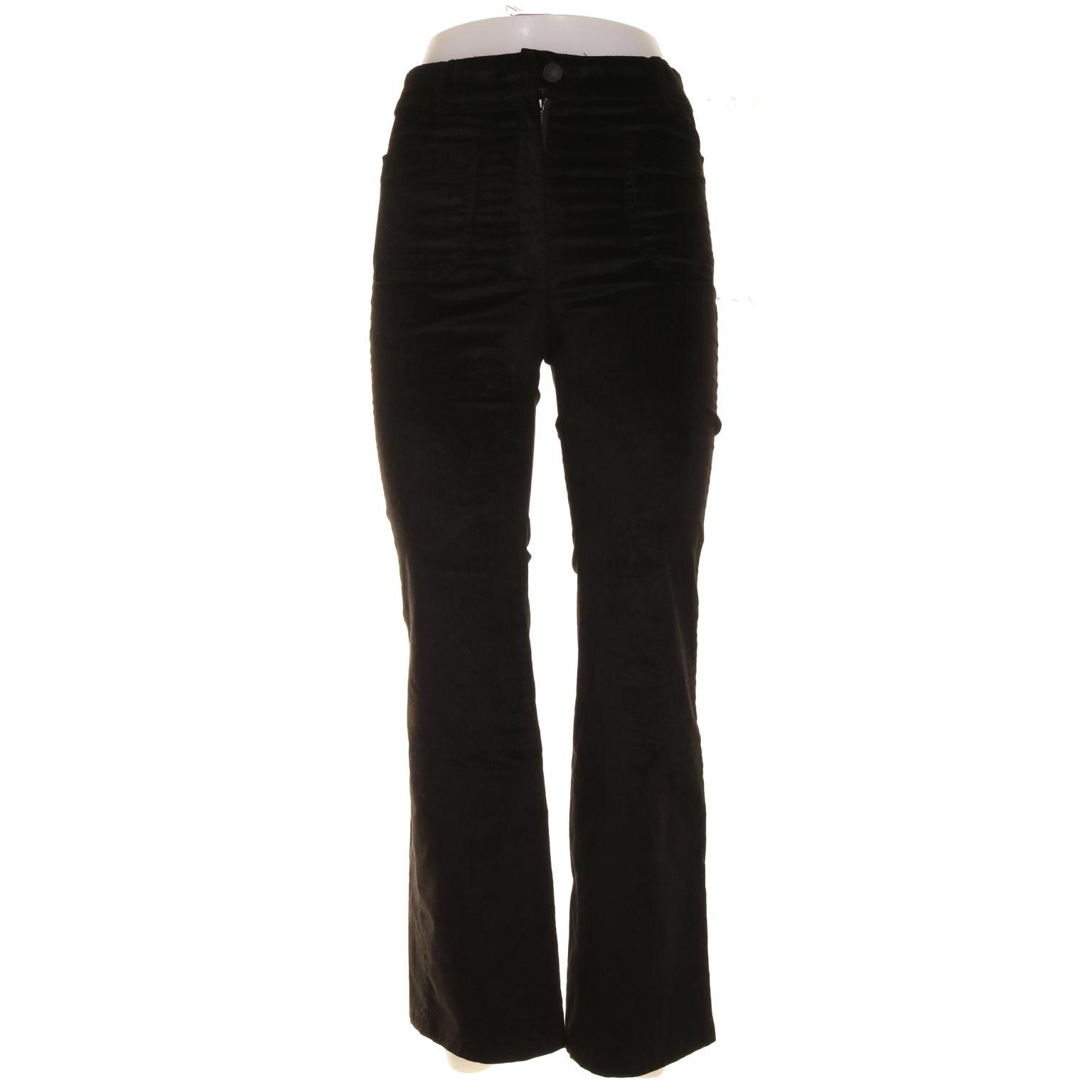 svarta flare byxor