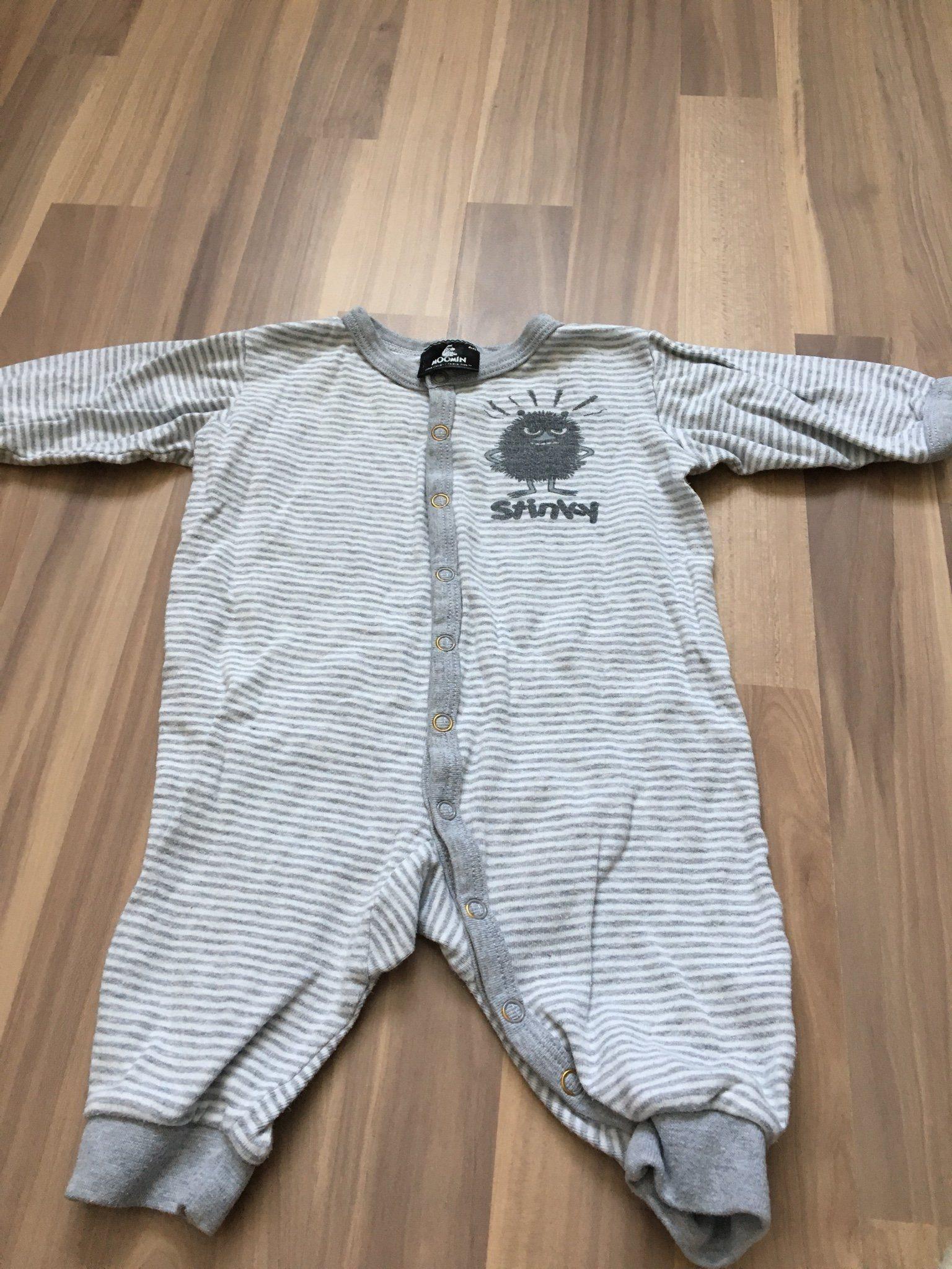 Pyjamas från Moomin stl 68 (339074950) ᐈ Köp på Tradera