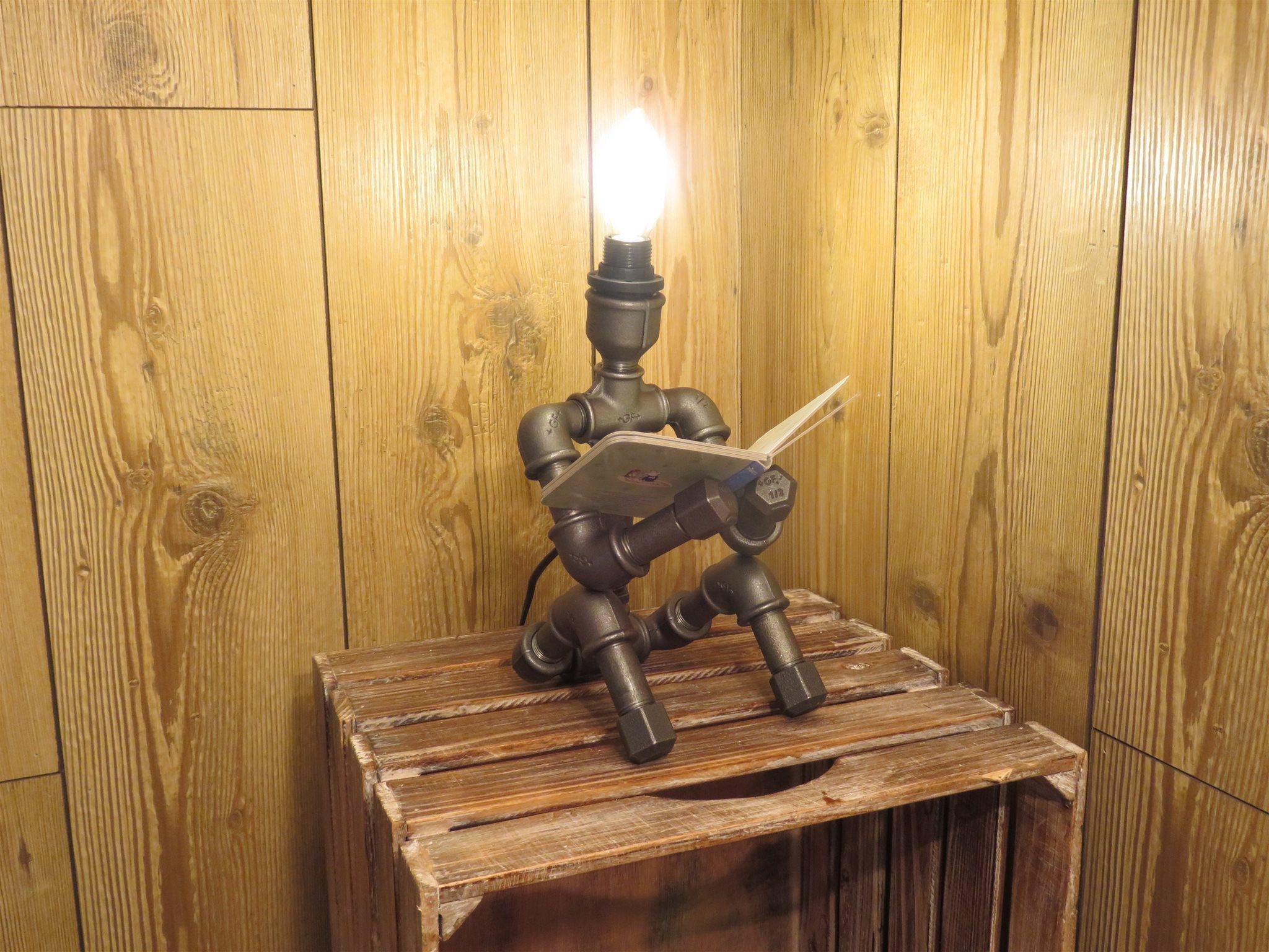 lampa av rördelar