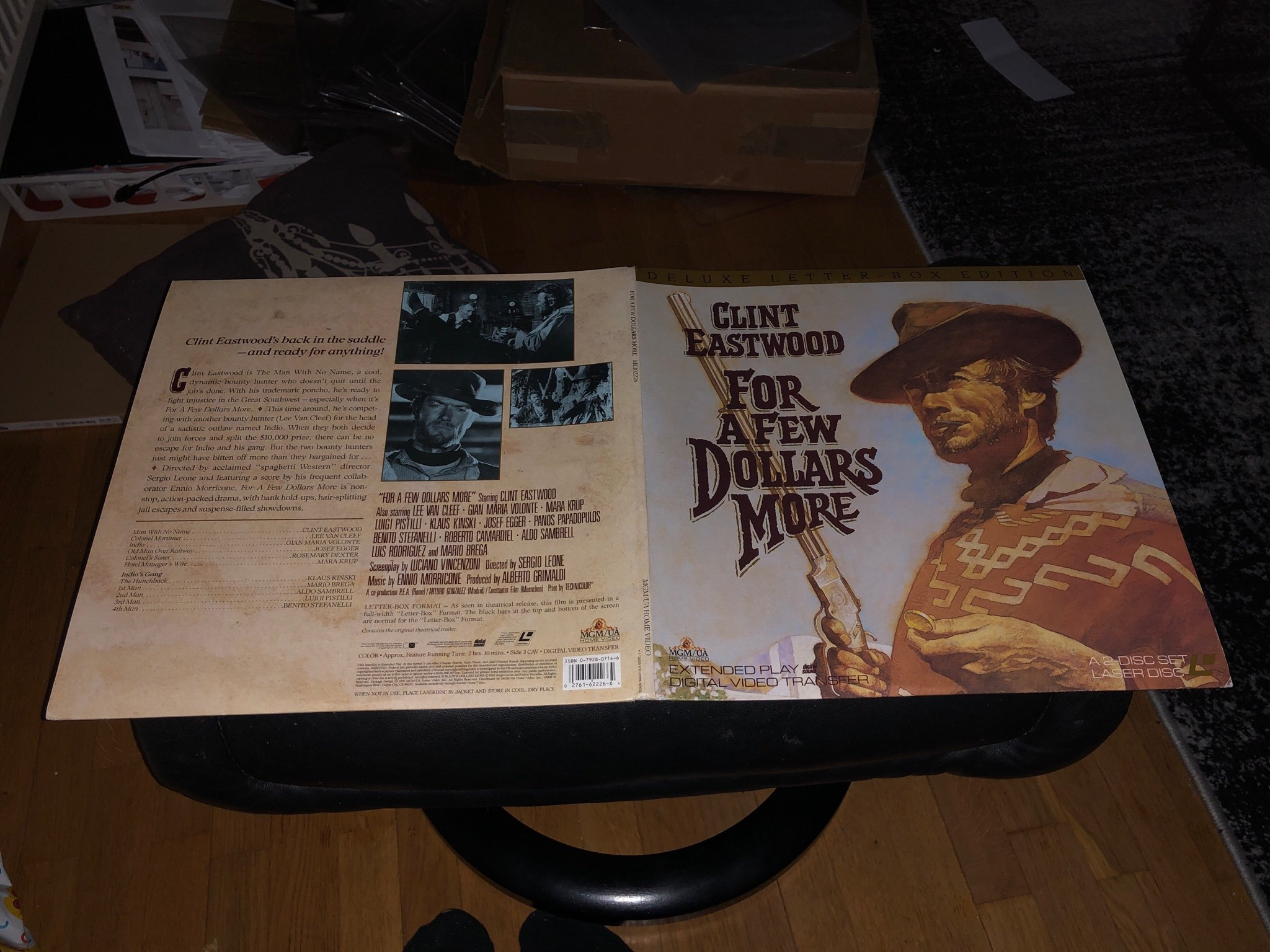 For a few dollars more - Deluxe Letterboxed edition  - 2st Laserdisc